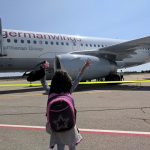 Flying Eurowings With Kids : Pula to Manchester #MurphysDo148Days