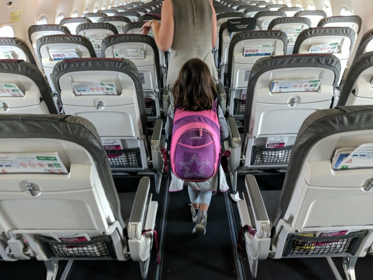 which seat option for eurowings kids