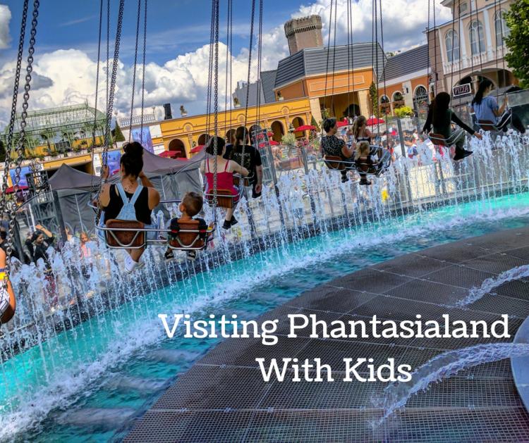 Phantasialand with young kids
