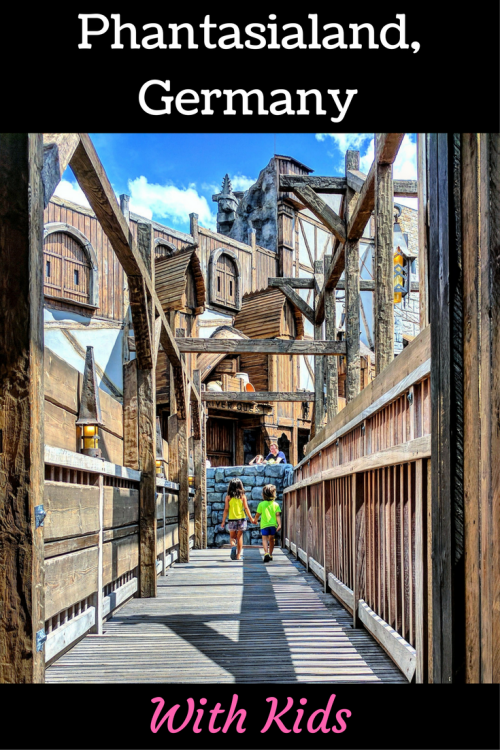 Phantasialand review with young kids