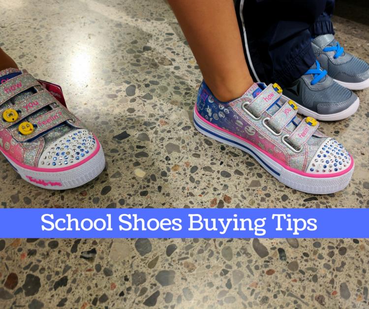tips buying school shoes