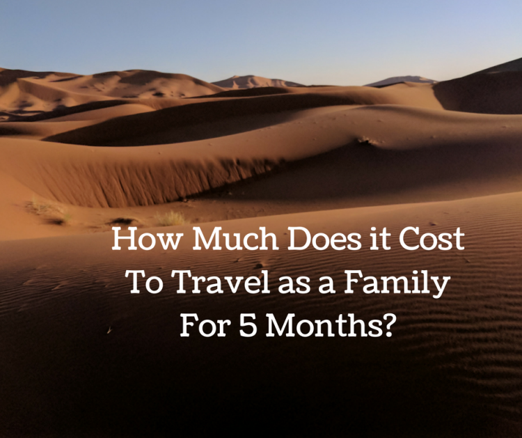 cost for 5 month europe trip