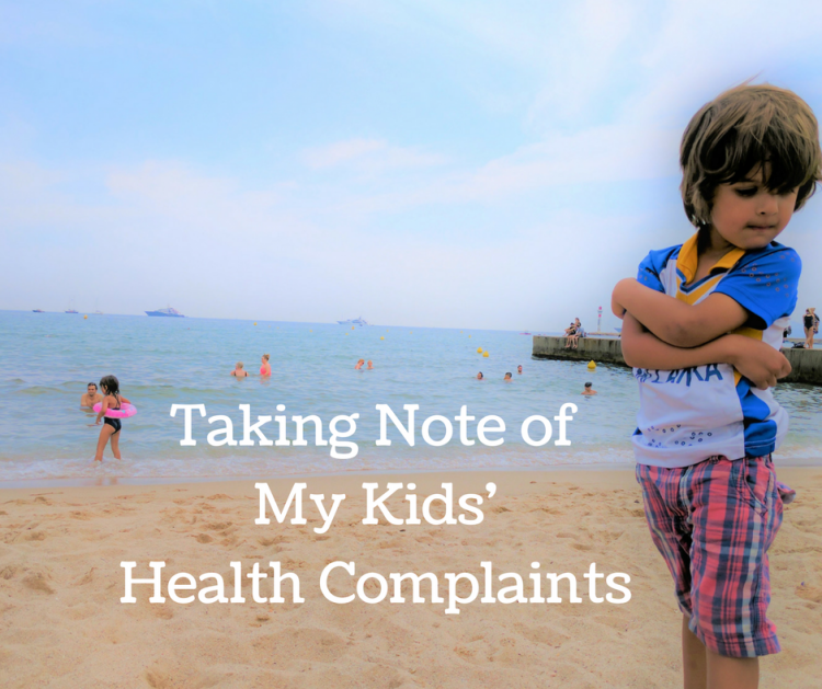Why I Started Taking Notes on My Kids' Health Complaints . Pediatric IBD