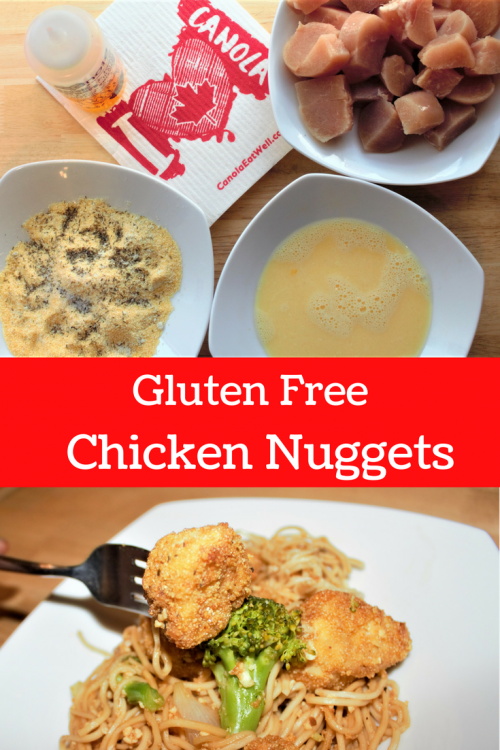 gluten free chicken nugget