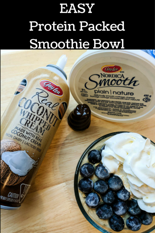 easy protein smoothie bowl