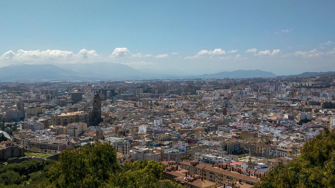 Castillo de Gibralfaro View