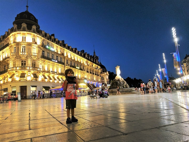 MOntpellier with kids