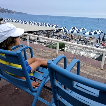 french riviera with kids