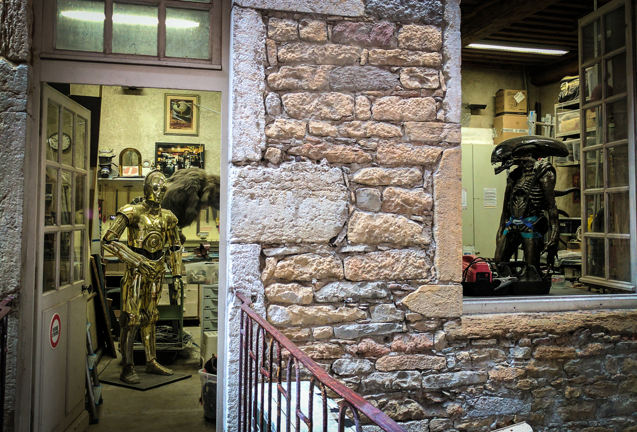 Lyon Miniature Museum C3PO