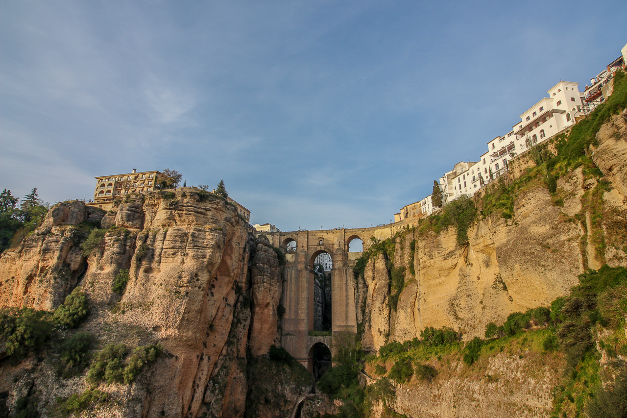 Bridges of Ronda from Below
