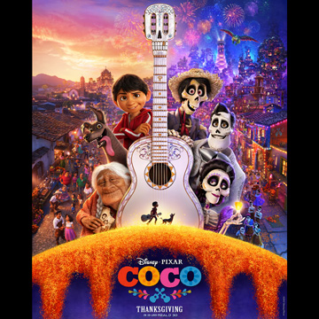 Taking the Kids to see Coco #PixarCoco