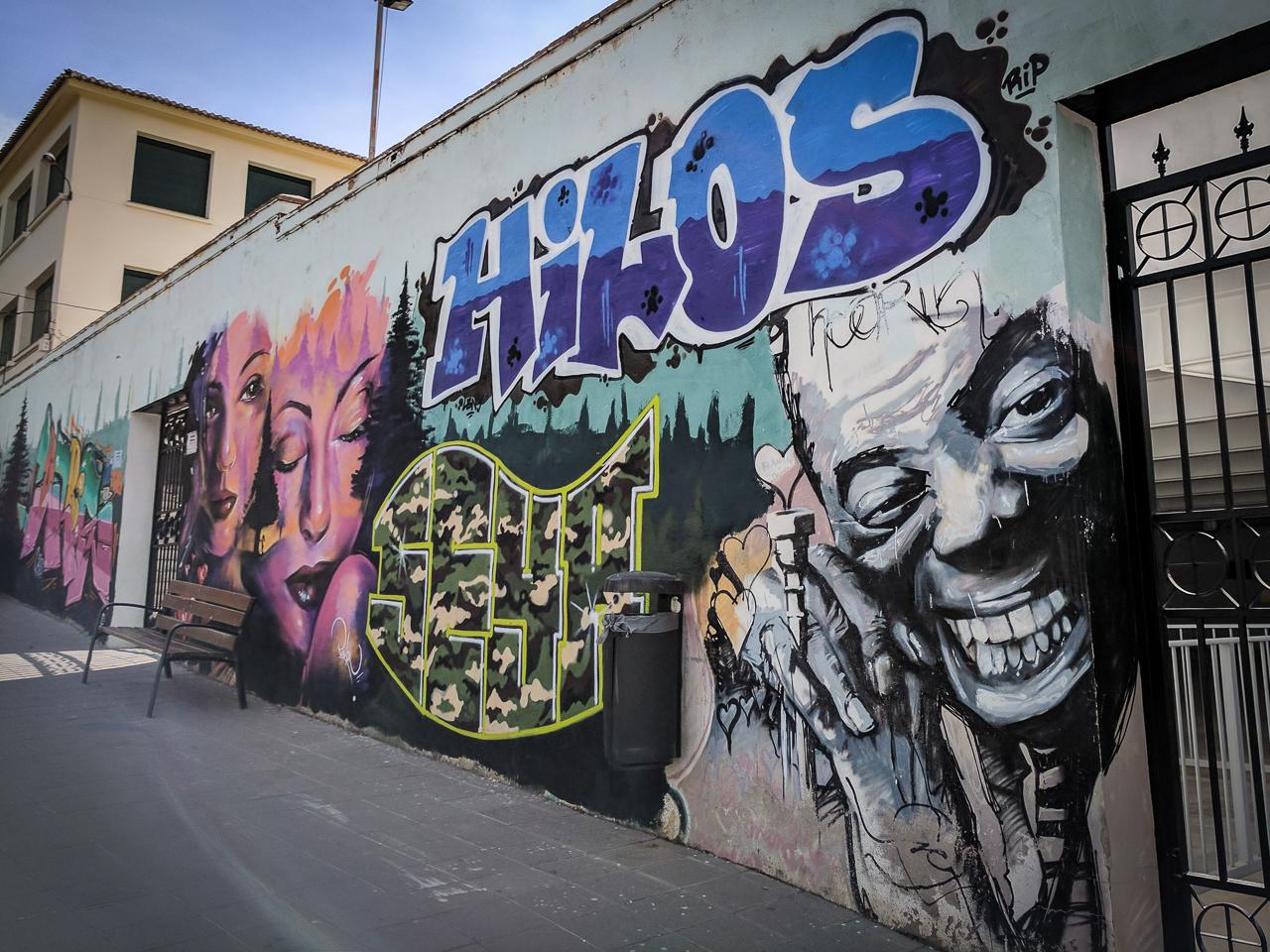 Louis Armstrong Mural Granada