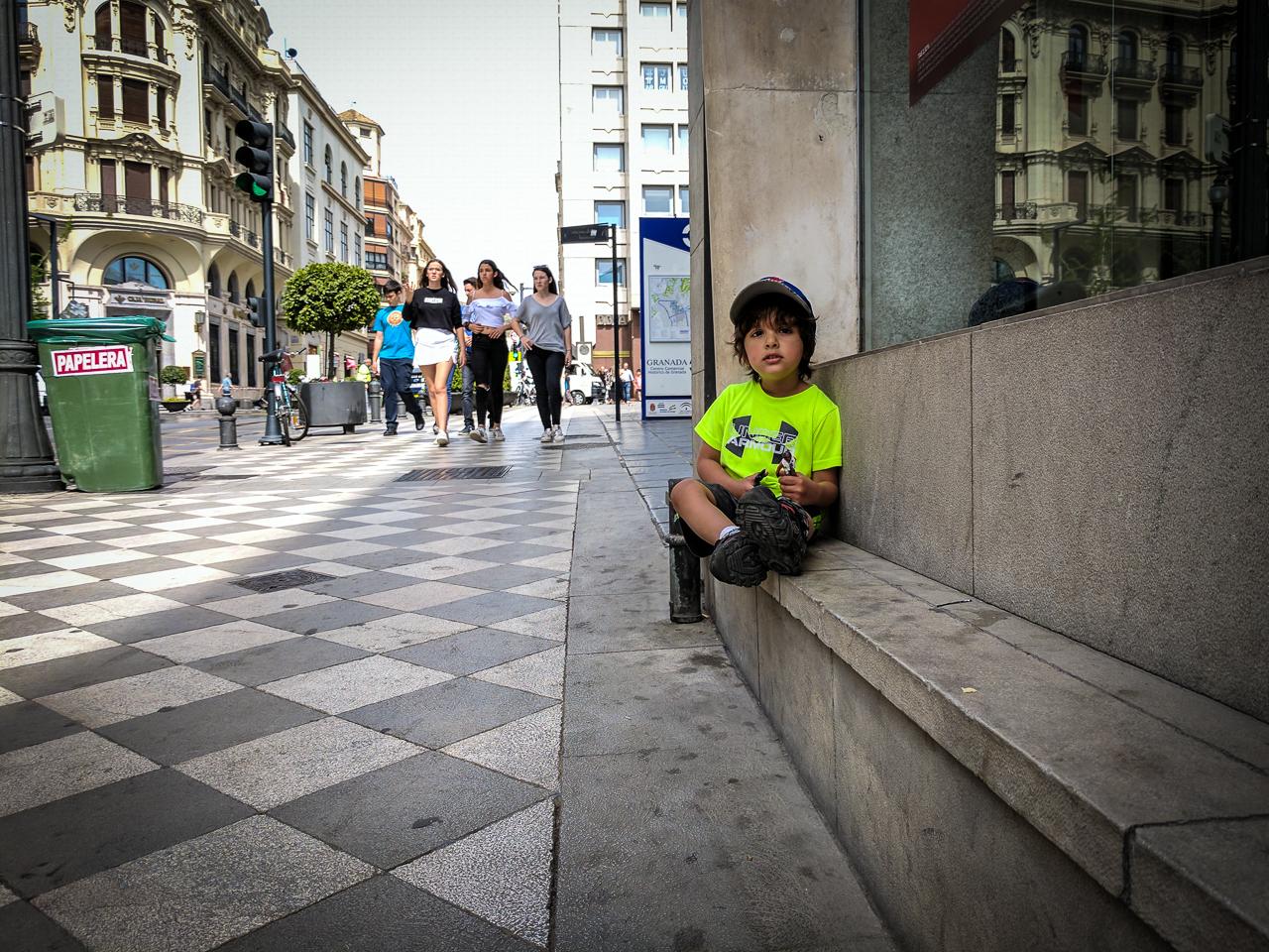 Pedestrian Only Granada