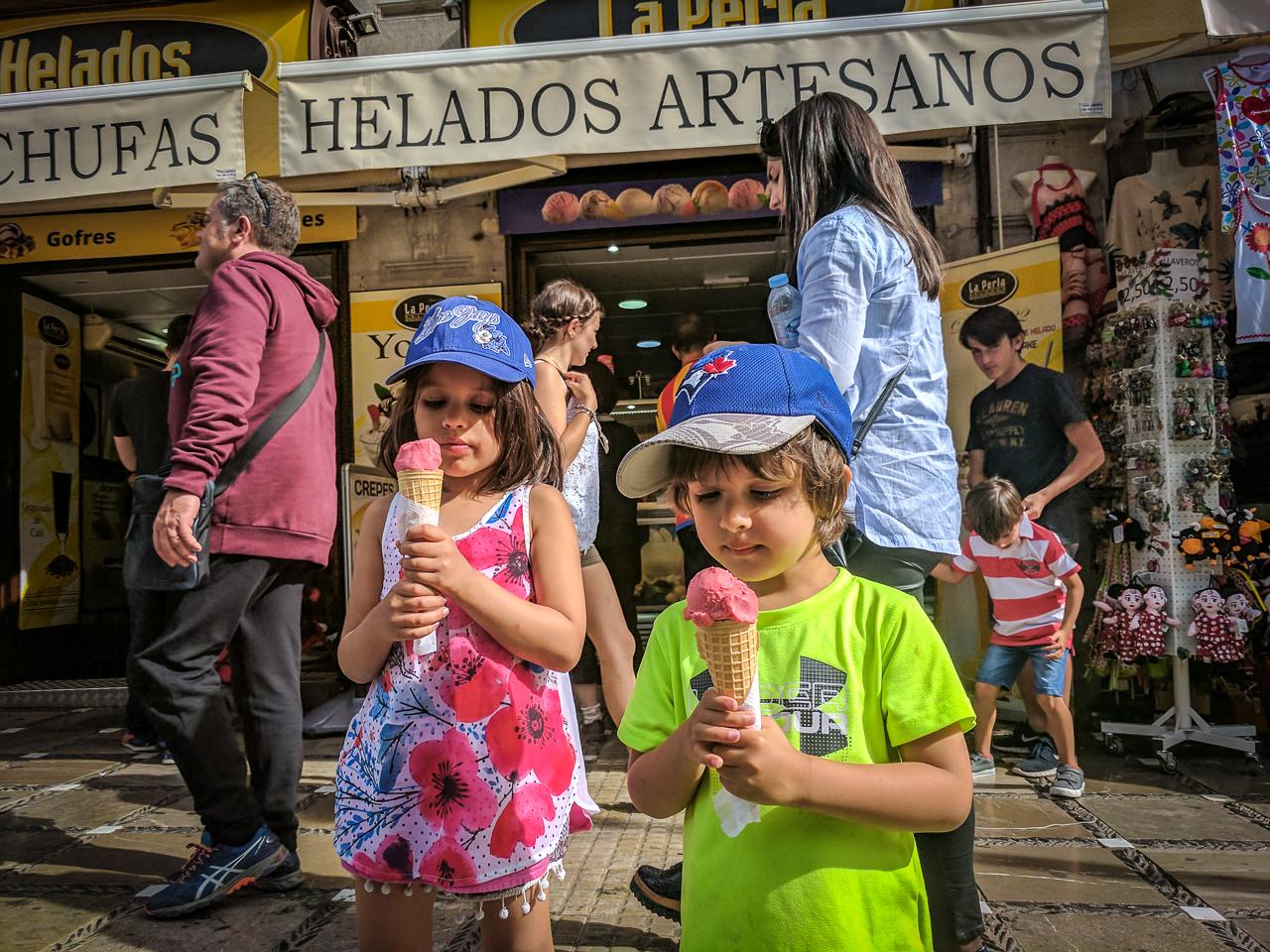 Ice Cream Granada.