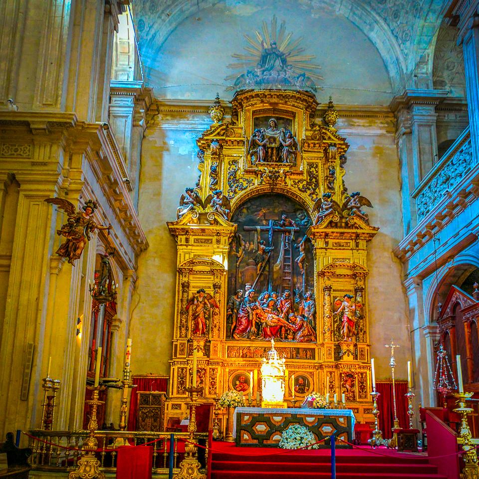 Seville Cathedral Altar