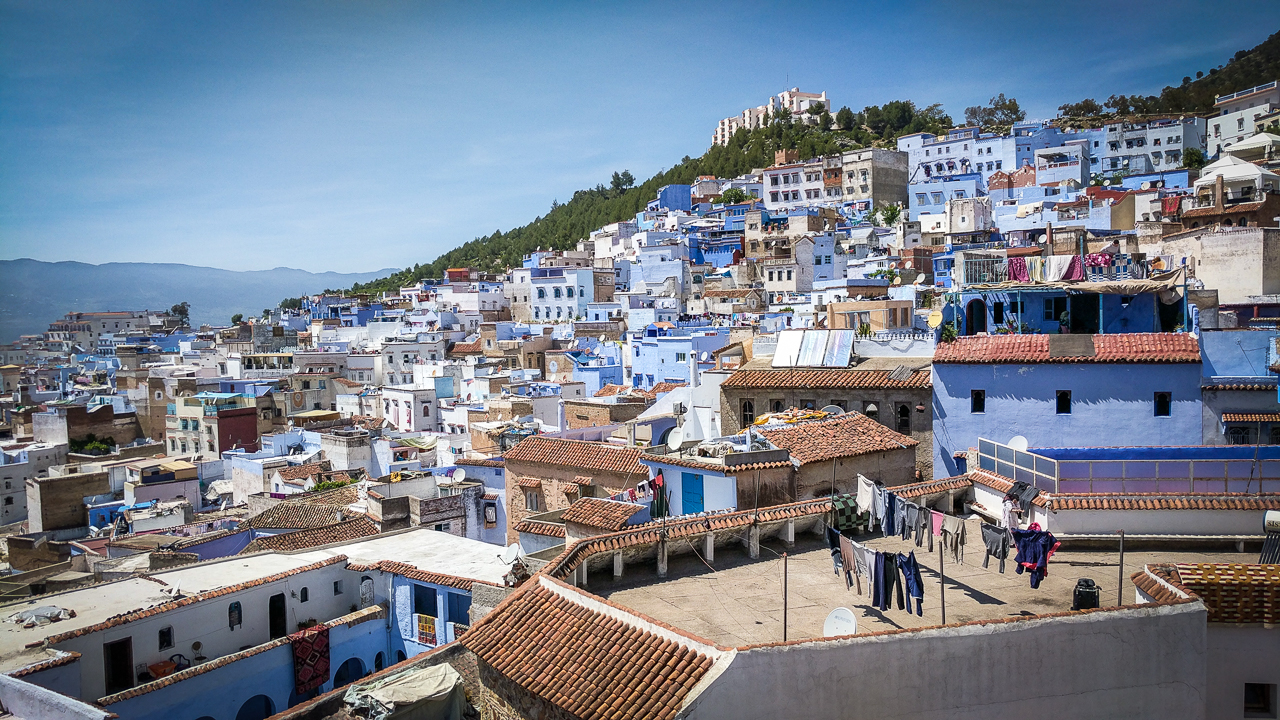 Chefchaouen Building Top