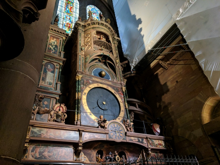 what to see in strasbourg Astronomical clock