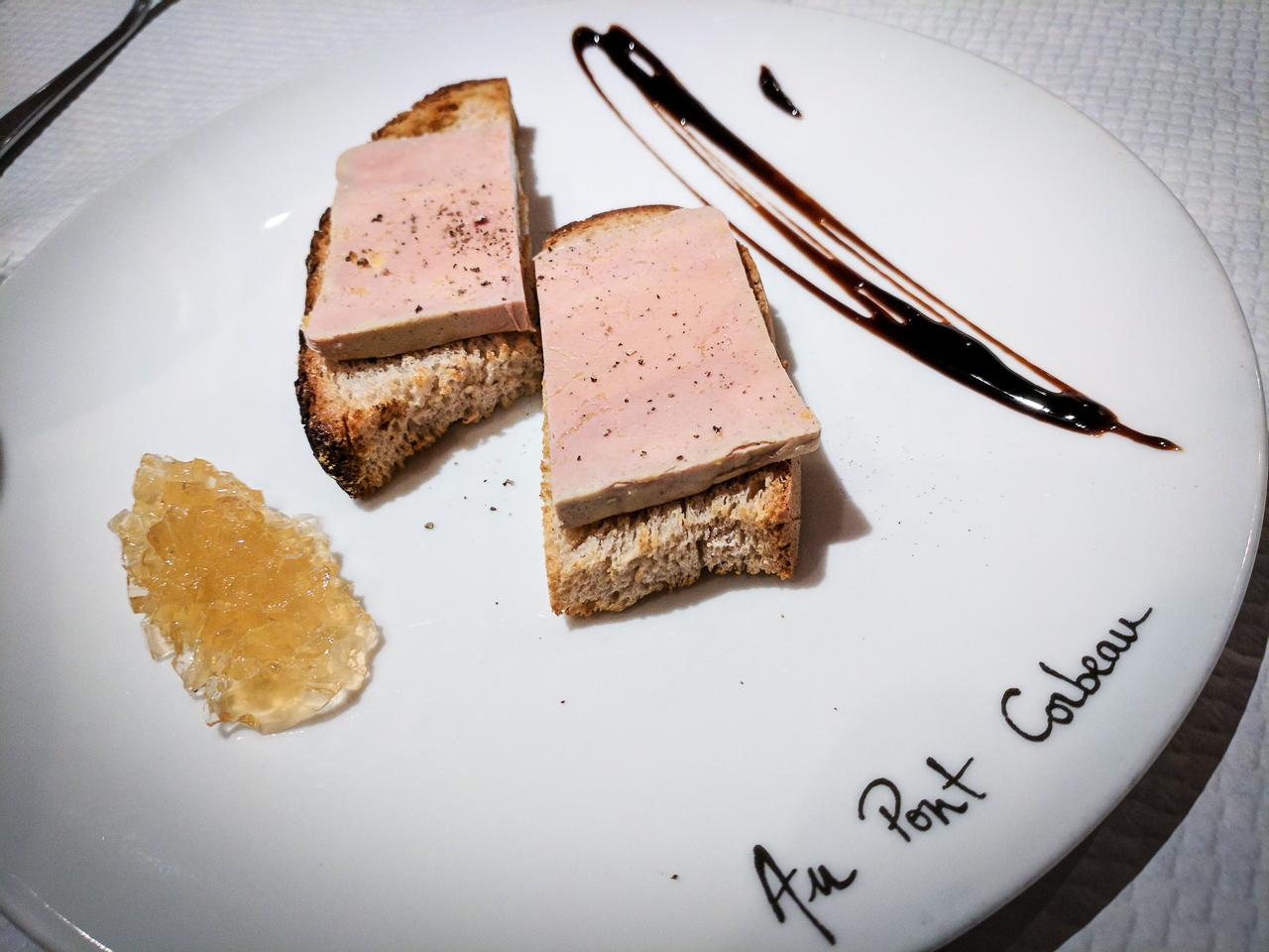 Foie Gras Au Pont du Corbeau