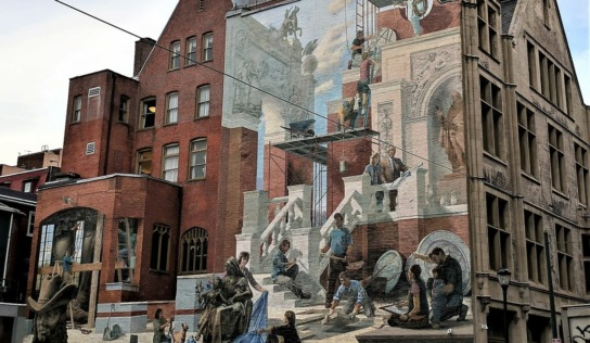 Philadelphia Street Art : The City of Murals