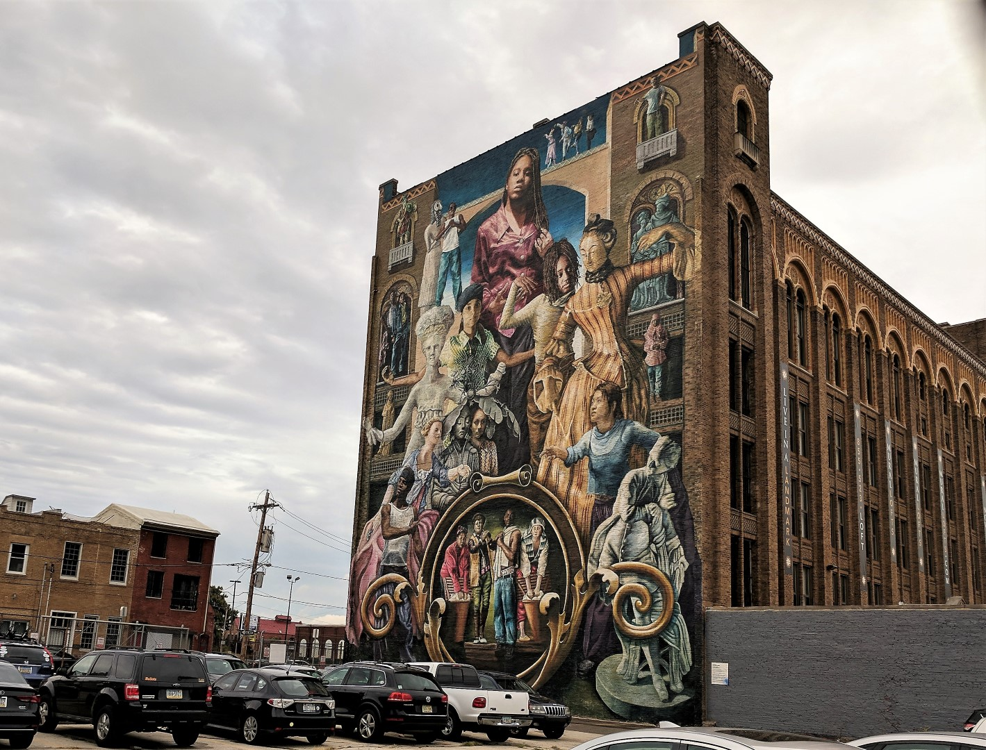 Philadelphia street art the city of murals baby and life for Common threads mural