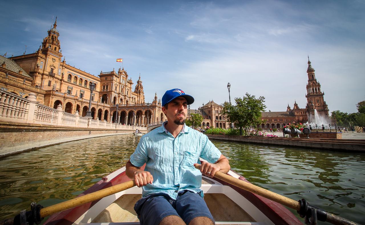 Plaza de España Boats