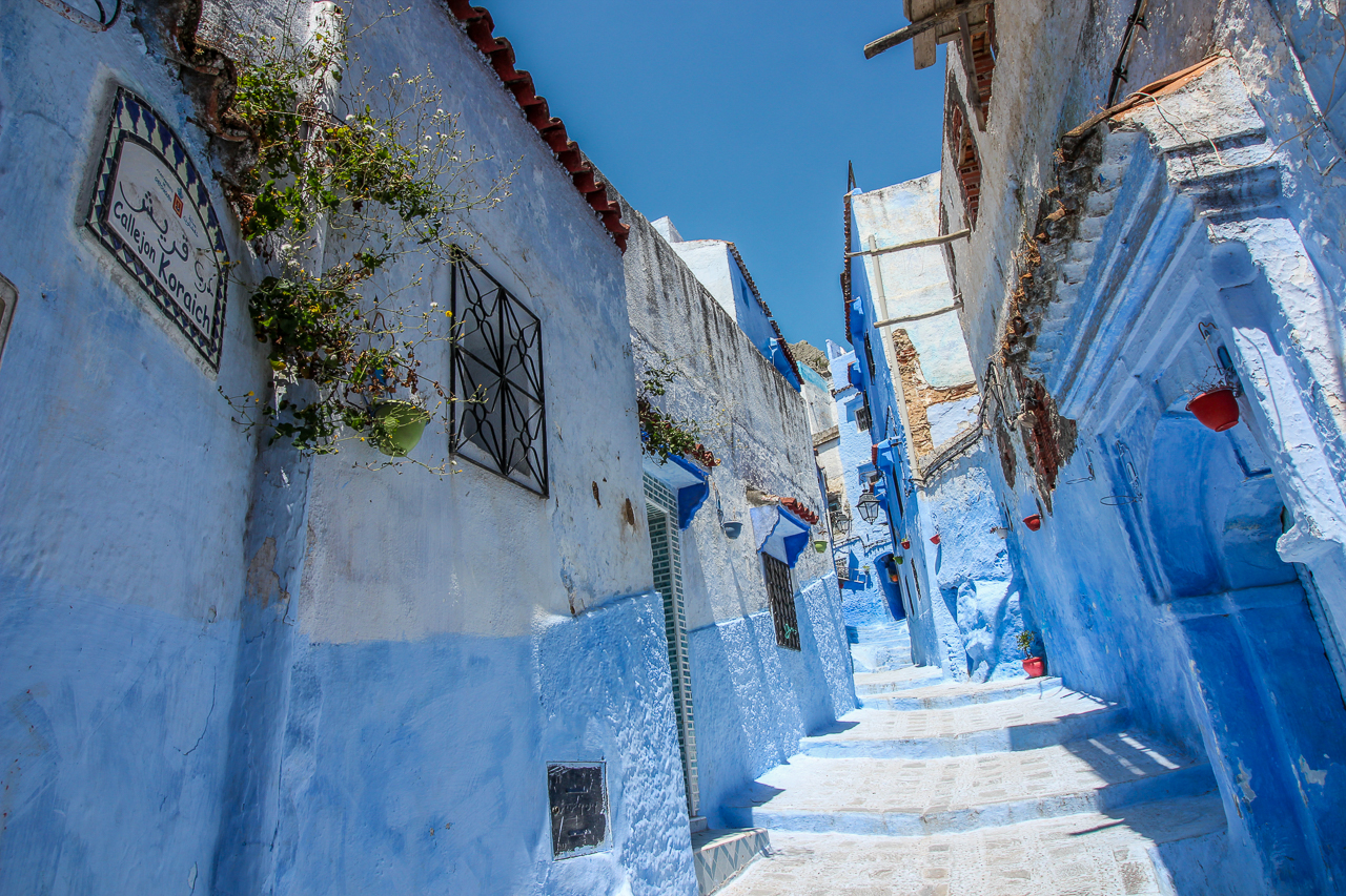 Chefchaouen paths