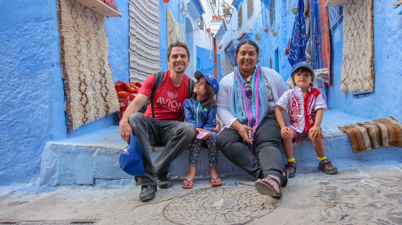 Chefchaouen Tourists