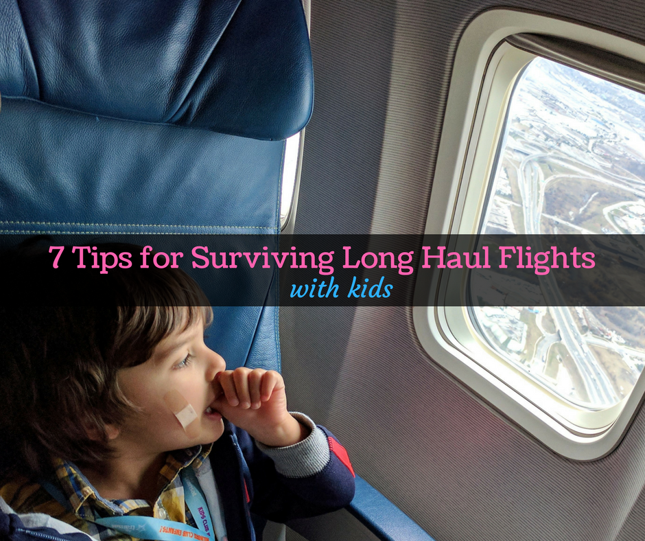 Flying with Children: Tips for Surviving a Long Haul Flight with Kids
