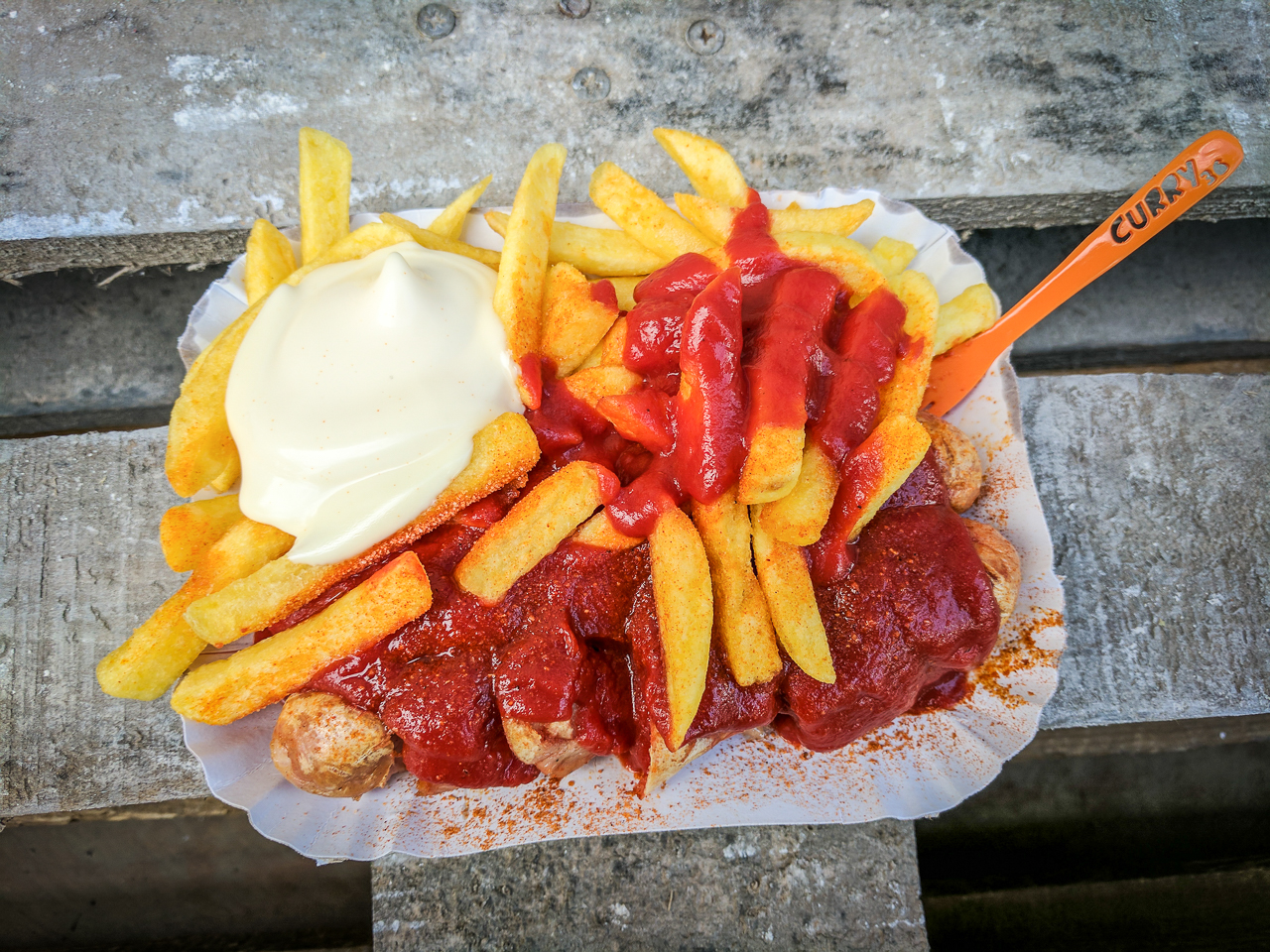 Cheap Eats in Berlin - Curry 36 Currywurst