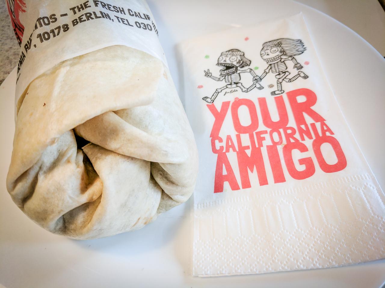 Cheap Eats in Berlin - Delores Burrito