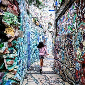 Photos of Philadelphia's Magic Gardens #MurphysDoPhilly