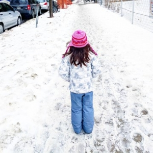How to Dress Kids for Winter in the City