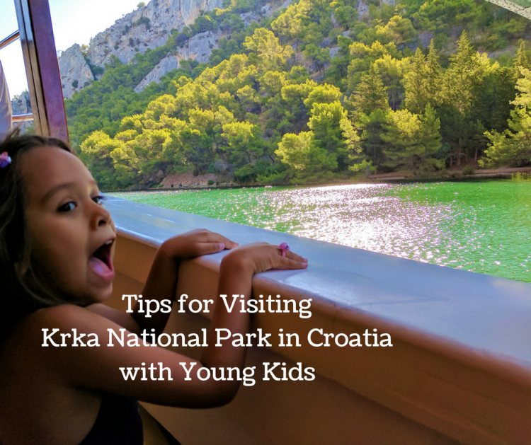 krka national park with young kids, tips for krka
