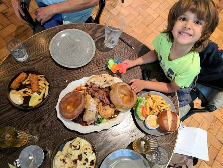 the refuge brunch Manchester with kids