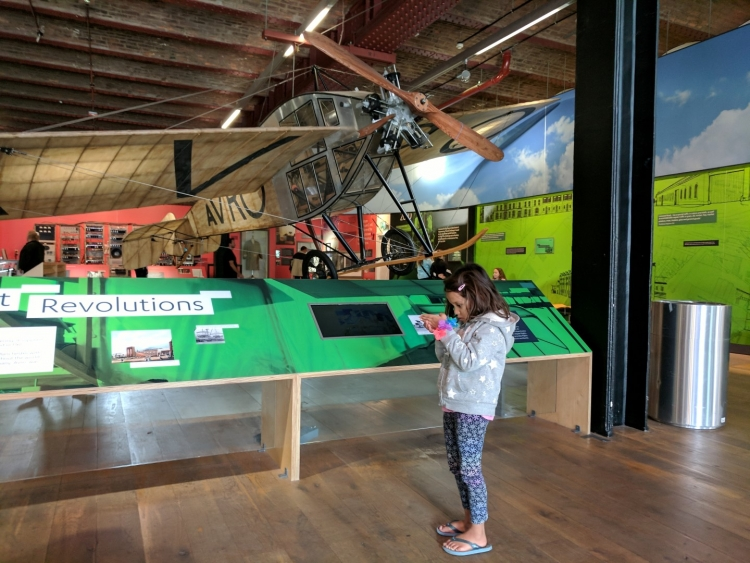 Museum of science and industry Manchester with kids