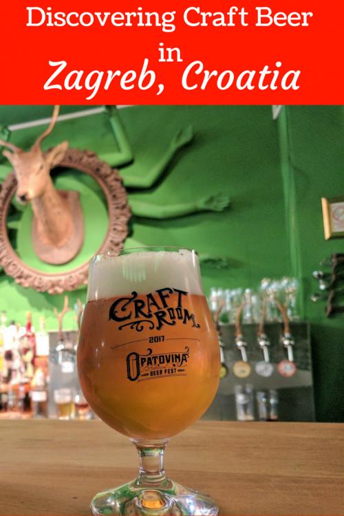 craft beer in zagreb