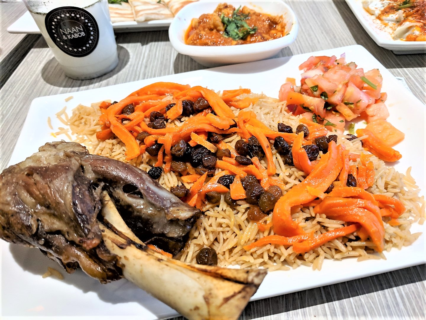 Naan and Kabob Afghan Food in Toronto