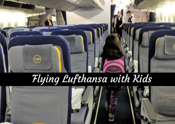 kids on Lufthansa
