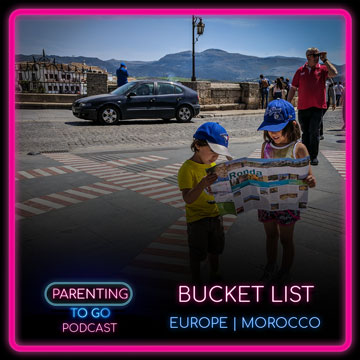 Parenting to Go Bucket List