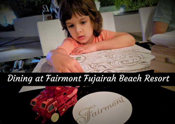 what to eat at fujairah beach resort