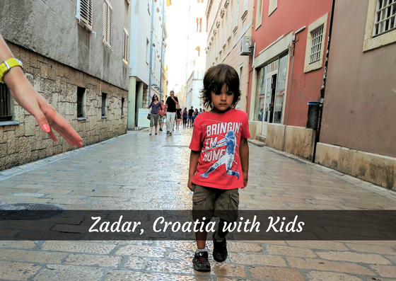 zadar croatia with kids