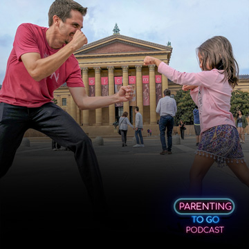 Parenting to go Podcast Philadelphia