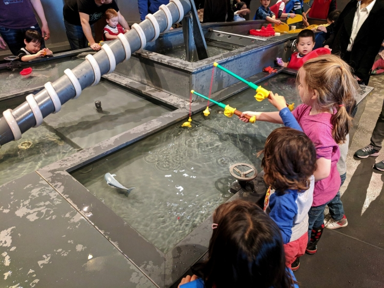 Ontario Science centre kids