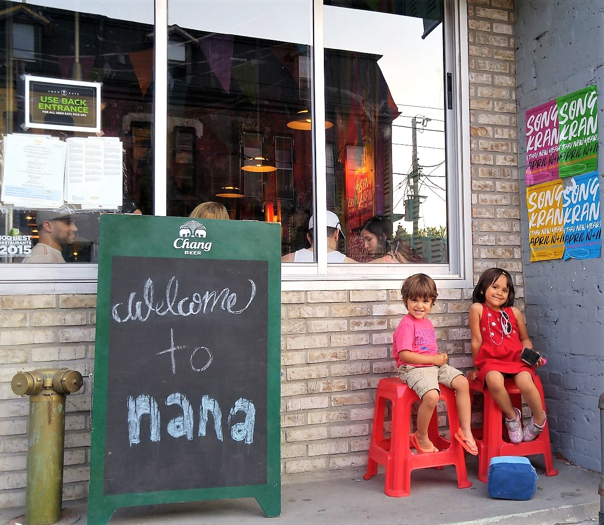 Giving Back by Dining Out #LocalLove
