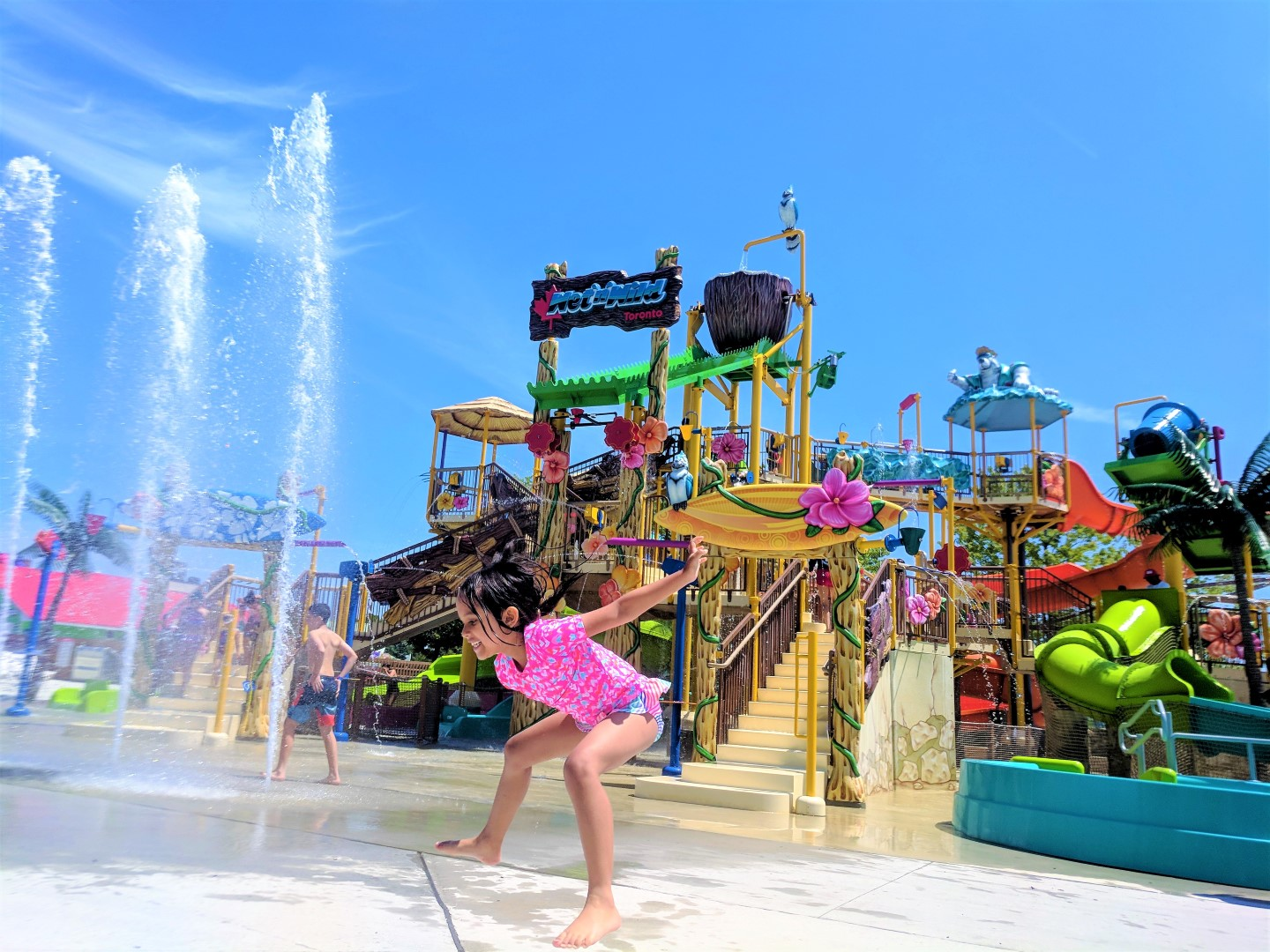 Wet'n'Wild Toronto with Young Kids | Baby and Life!