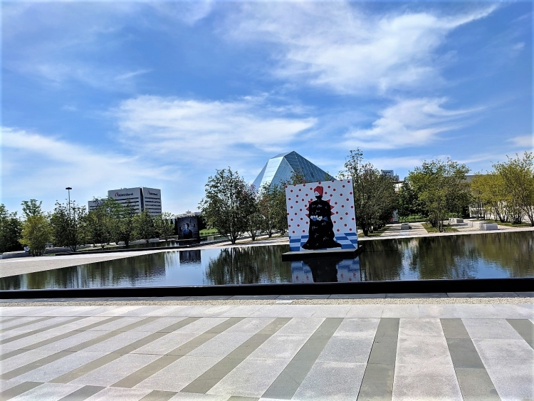 Take the subway to the Aga Khan Park in Toronto with kids for something free to do in Toronto