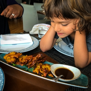 Dining at the Aga Khan Museum's Diwan with Kids