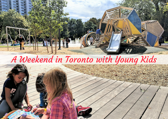 toronto itinerary with kids