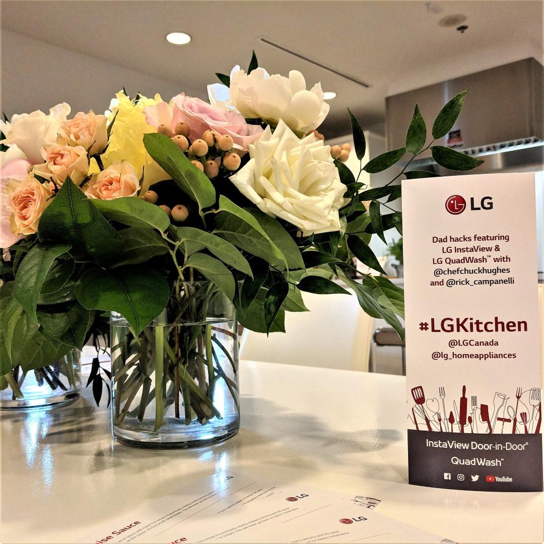 In the #LGKitchen with Chef Chuck Hughes and Rick Campanelli