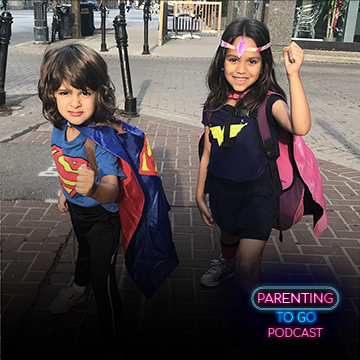 Parenting to Go Superheros